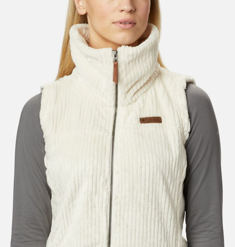 Fire Side™ Sherpa Vest | 191 | S Women's Fire Side™ Sherpa Vest, Chalk Stripe, a2