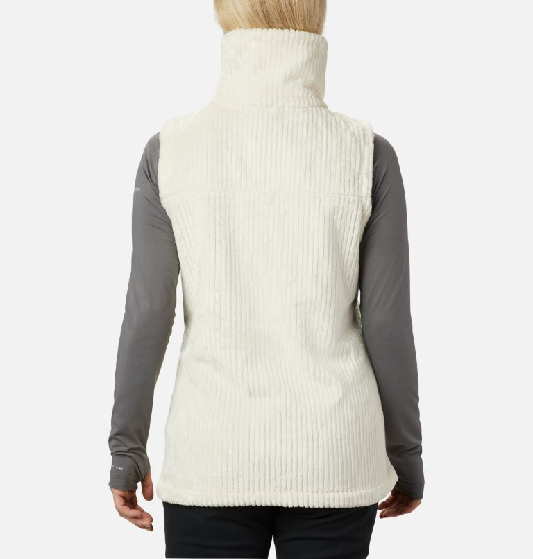 Fire Side™ Sherpa Vest | 191 | M Women's Fire Side™ Sherpa Vest, Chalk Stripe, back