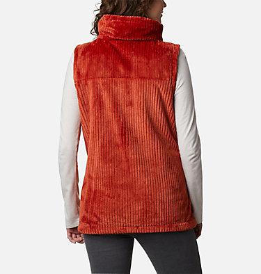Women's Fire Side™ Sherpa Vest Fire Side™ Sherpa Vest | 248 | L, Dark Sienna Stripe, back