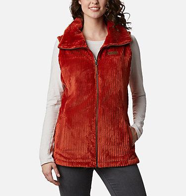 Women's Fire Side™ Sherpa Vest Fire Side™ Sherpa Vest | 248 | L, Dark Sienna Stripe, front