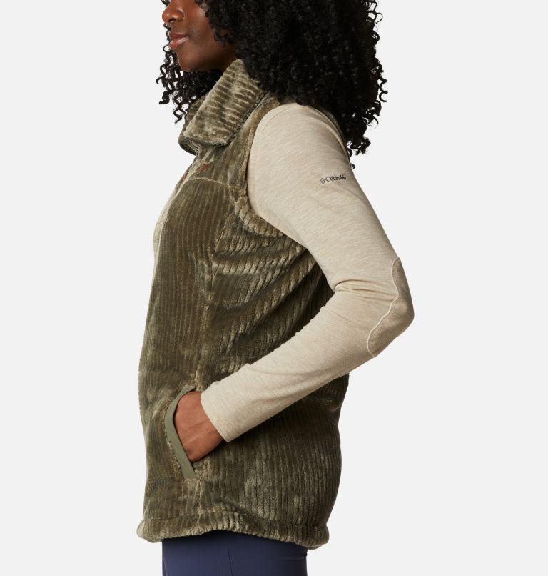 Fire Side™ Sherpa Vest | 397 | M Women's Fire Side™ Sherpa Vest, Stone Green Stripe, a1