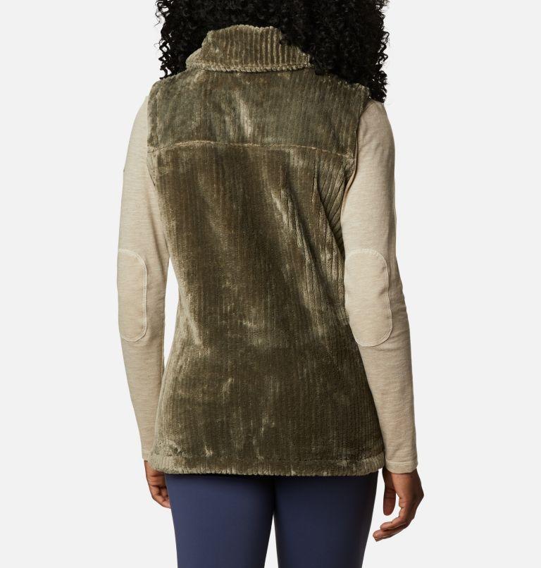 Fire Side™ Sherpa Vest | 397 | M Women's Fire Side™ Sherpa Vest, Stone Green Stripe, back