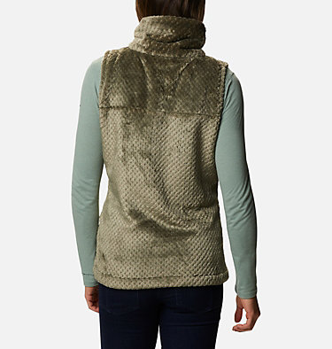 Women's Fire Side™ Sherpa Vest Fire Side™ Sherpa Vest | 398 | L, Stone Green, back