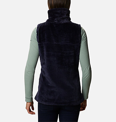 Women's Fire Side™ Sherpa Vest Fire Side™ Sherpa Vest | 398 | L, Dark Nocturnal Stripe, back