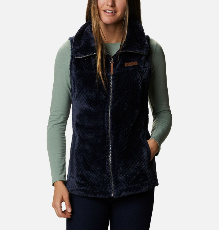 Women's Fire Side™ Sherpa Vest Women's Fire Side™ Sherpa Vest, front