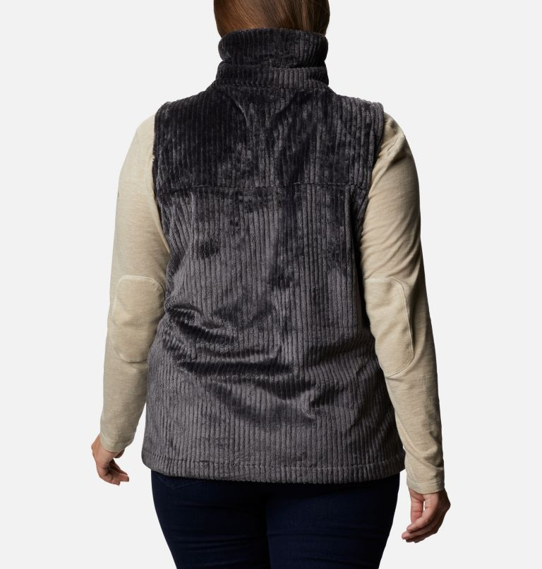 Women's Fire Side™ Sherpa Vest - Plus Size Women's Fire Side™ Sherpa Vest - Plus Size, back