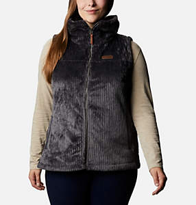 Women's Fire Side™ Sherpa Vest - Plus Size