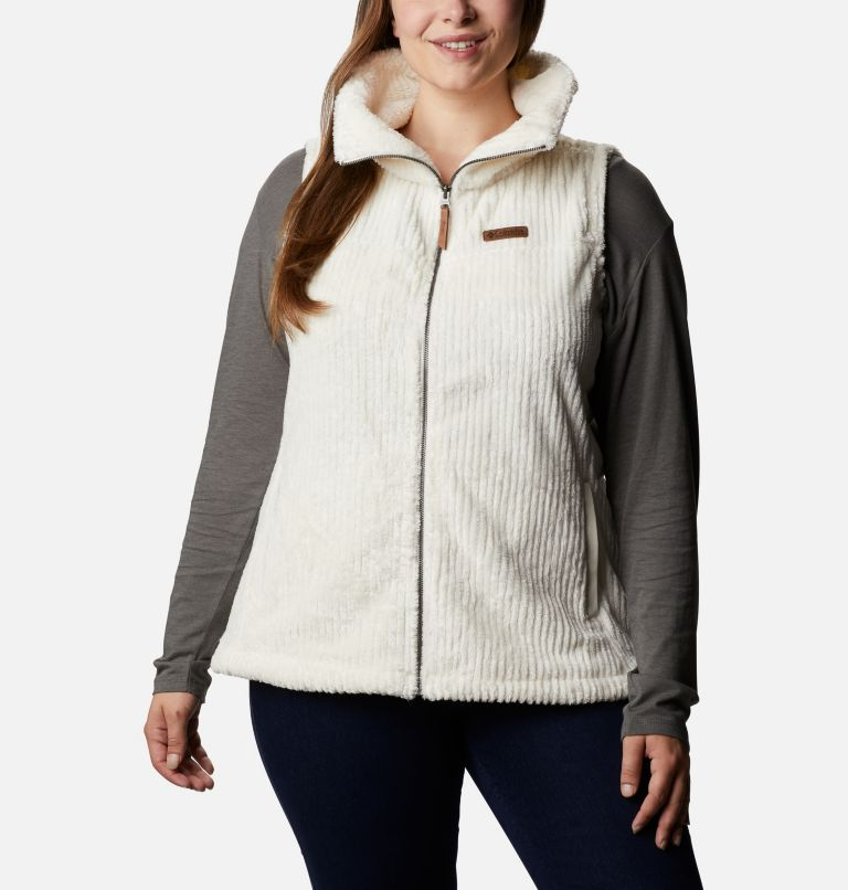 Women's Fire Side™ Sherpa Vest - Plus Size Women's Fire Side™ Sherpa Vest - Plus Size, front