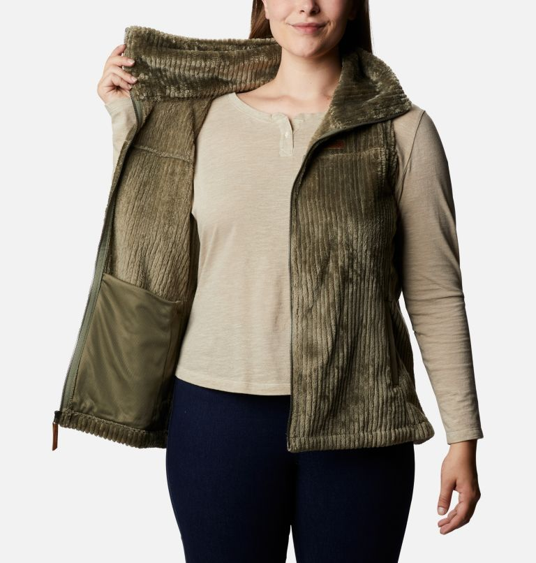 Women's Fire Side™ Sherpa Vest - Plus Size Women's Fire Side™ Sherpa Vest - Plus Size, a3