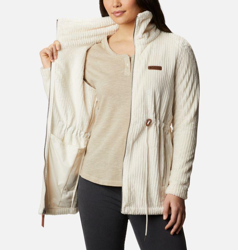 Fire Side™ Sherpa Long FZ | 191 | XXL Women's Fire Side™ Long Full Zip Sherpa Fleece Jacket, Chalk Stripe, a3