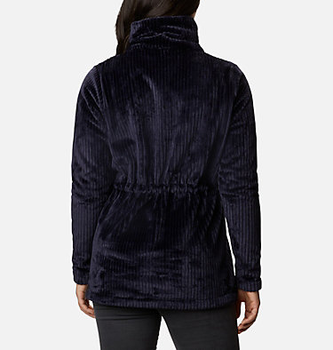 Women's Fire Side™ Long Full Zip Sherpa Fleece Jacket Fire Side™ Sherpa Long FZ | 191 | L, Dark Nocturnal Stripe, back