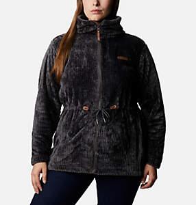 Women's Fire Side™ Long Full Zip Sherpa Fleece Jacket - Plus Size