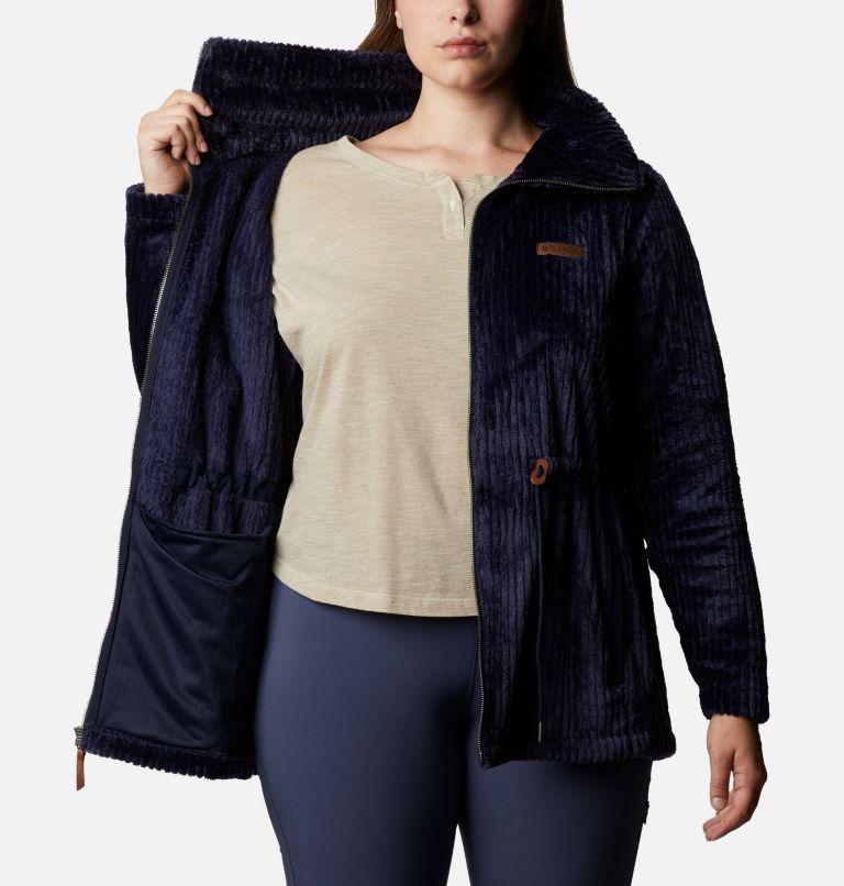 Women's Fire Side™ Long Full Zip Sherpa Fleece Jacket - Plus Size Women's Fire Side™ Long Full Zip Sherpa Fleece Jacket - Plus Size, a3
