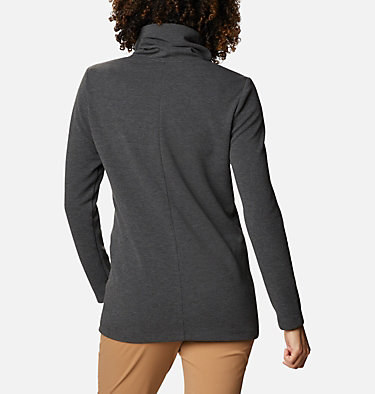 Women's Firwood™ Ottoman Turtleneck Firwood™ Ottoman Turtleneck | 248 | L, Shark Heather, back