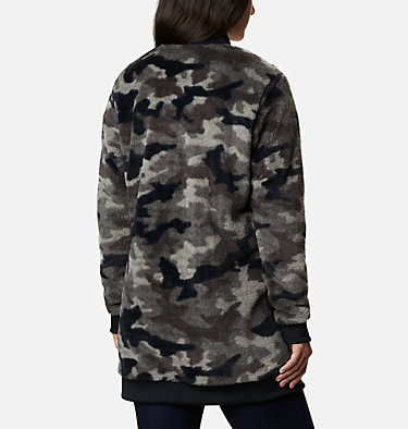 Women's Bundle Up™ Printed Fleece Jacket Bundle Up™ Printed Fleece | 472 | XS, Black Camo, back