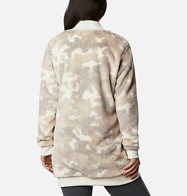 Manteau imprimé en laine polaire Bundle Up™ pour femme Bundle Up™ Printed Fleece | 472 | XS, Chalk Camo, back
