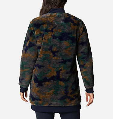 Women's Bundle Up™ Printed Fleece Jacket Bundle Up™ Printed Fleece | 472 | XS, Dark Nocturnal Camo, back