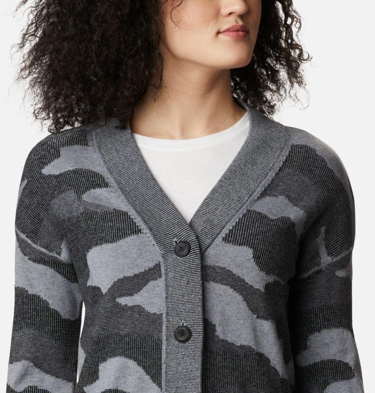 Firwood™ Sweater Cardigan | 010 | L Women's Firwood™ Sweater Cardigan, Black Camo, a2