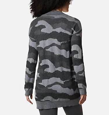 Women's Firwood™ Sweater Cardigan Firwood™ Sweater Cardigan | 370 | L, Black Camo, back