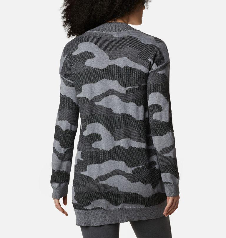 Firwood™ Sweater Cardigan | 010 | L Women's Firwood™ Sweater Cardigan, Black Camo, back