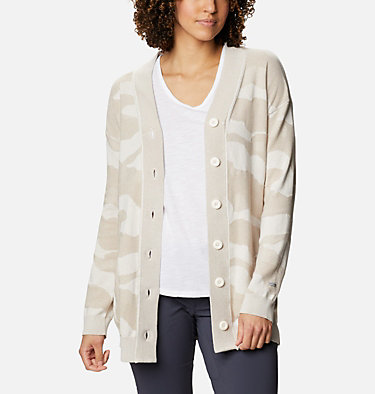 Women's Firwood™ Sweater Cardigan Firwood™ Sweater Cardigan | 370 | L, Chalk Camo, front