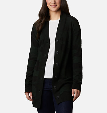Women's Firwood™ Sweater Cardigan Firwood™ Sweater Cardigan | 370 | L, Spruce Camo, front