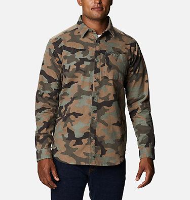 Men's Outdoor Elements™ Printed Flannel Outdoor Elements™ Printed Flannel   316   XL, Cypress Camo, front