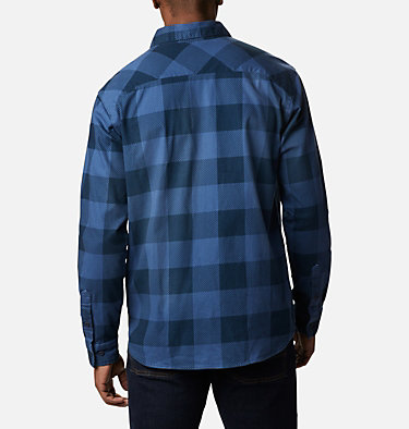 Men's Outdoor Elements™ Printed Flannel Outdoor Elements™ Printed Flannel | 316 | XL, Night Tide Buffalo, back