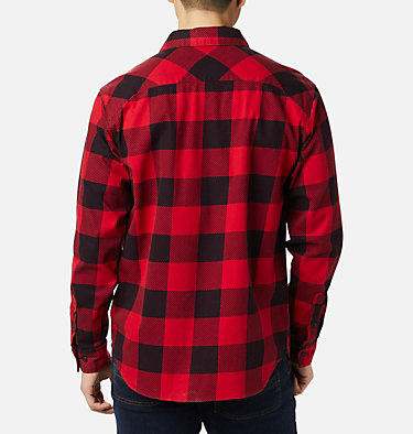 Men's Outdoor Elements™ Printed Flannel Outdoor Elements™ Printed Flannel | 316 | XL, Mountain Red Buffalo, back