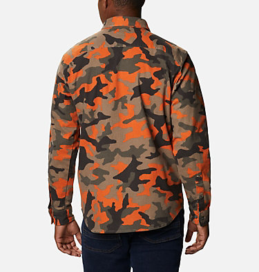 Men's Outdoor Elements™ Printed Flannel Outdoor Elements™ Printed Flannel | 316 | XL, Harvester Camo, back