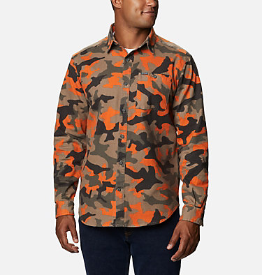 Men's Outdoor Elements™ Printed Flannel Outdoor Elements™ Printed Flannel | 316 | XL, Harvester Camo, front