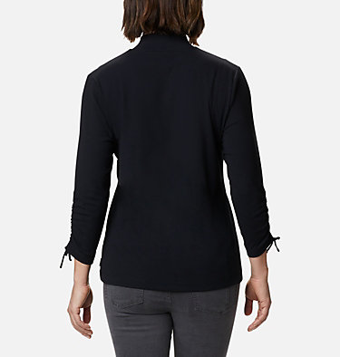 Women's Firwood™ Ribbed Knit Three-Quarter Sleeve Shirt Firwood™ Ribbed Knit 3/4 Sleeve Knit | 604 | L, Black, back