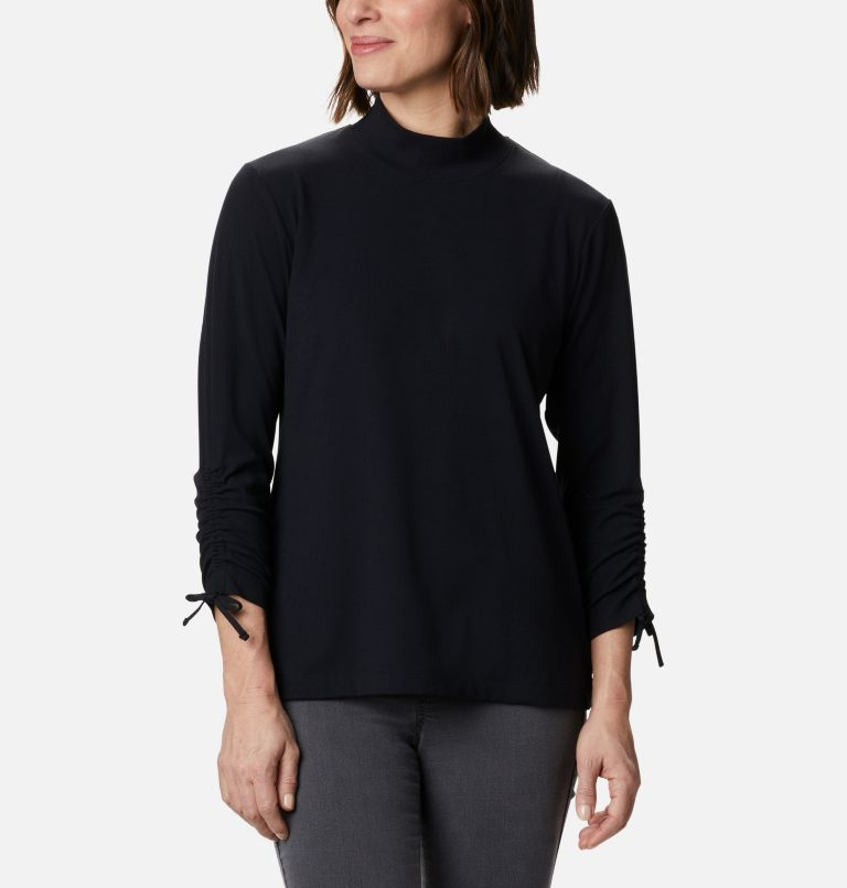 Women's Firwood™ Ribbed Knit Three-Quarter Sleeve Shirt Women's Firwood™ Ribbed Knit Three-Quarter Sleeve Shirt, front