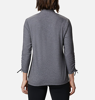 Women's Firwood™ Ribbed Knit Three-Quarter Sleeve Shirt Firwood™ Ribbed Knit 3/4 Sleeve Knit | 604 | L, Shark Heather, back