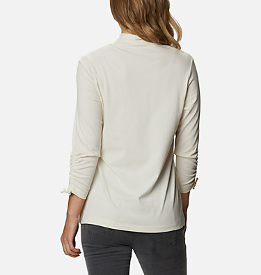 Women's Firwood™ Ribbed Knit Three-Quarter Sleeve Shirt Firwood™ Ribbed Knit 3/4 Sleeve Knit | 604 | L, Chalk, back