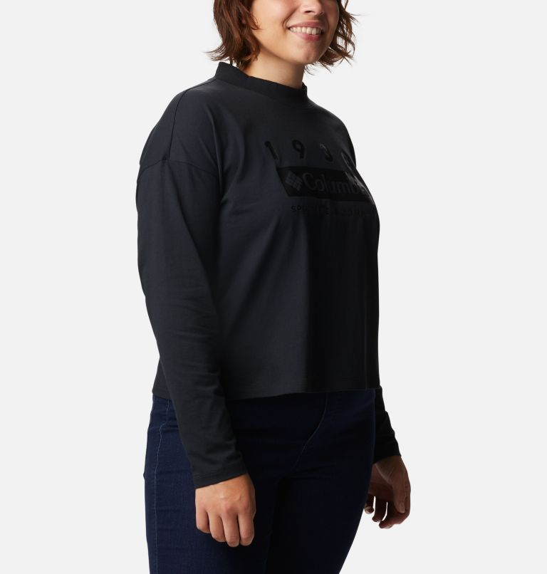 Women's Columbia Lodge™ Mock Neck Shirt - Plus Size Women's Columbia Lodge™ Mock Neck Shirt - Plus Size, a3