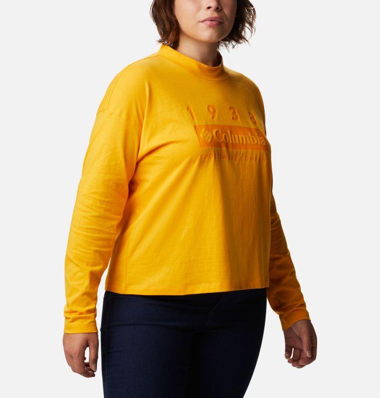 Women's Columbia Lodge™ Mock Neck Shirt - Plus Size Women's Columbia Lodge™ Mock Neck Shirt - Plus Size, a3