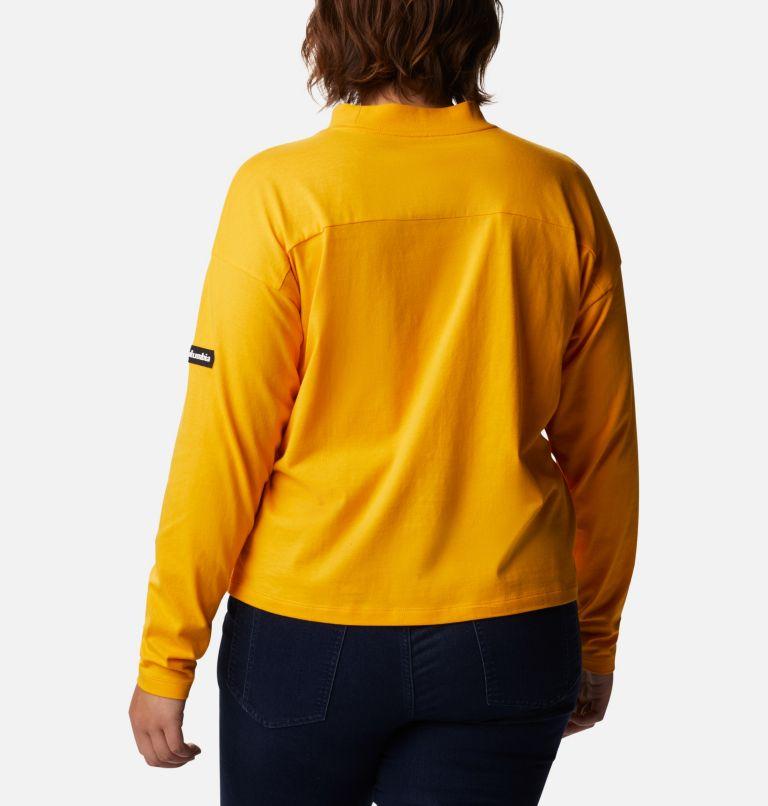 Women's Columbia Lodge™ Mock Neck Shirt - Plus Size Women's Columbia Lodge™ Mock Neck Shirt - Plus Size, back
