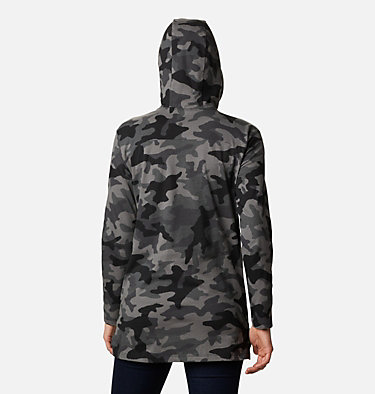 Tunique à capuchon Columbia Lodge™ pour femme Columbia Lodge™ Hooded Tunic | 100 | L, Black Camo Print, back