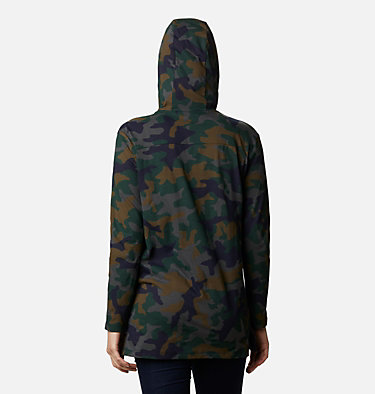 Tunique à capuchon Columbia Lodge™ pour femme Columbia Lodge™ Hooded Tunic | 100 | L, Dark Nocturnal Camo, back