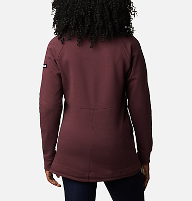 Women's Columbia Lodge™ II Tunic Columbia Lodge™ II Tunic | 472 | L, Malbec, Typo Print, back