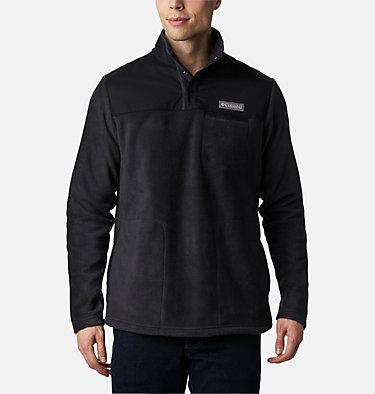 Men's Cottonwood Park™ Half Snap Fleece Pullover Cottonwood Park™ Half Snap | 010 | XL, Black, front