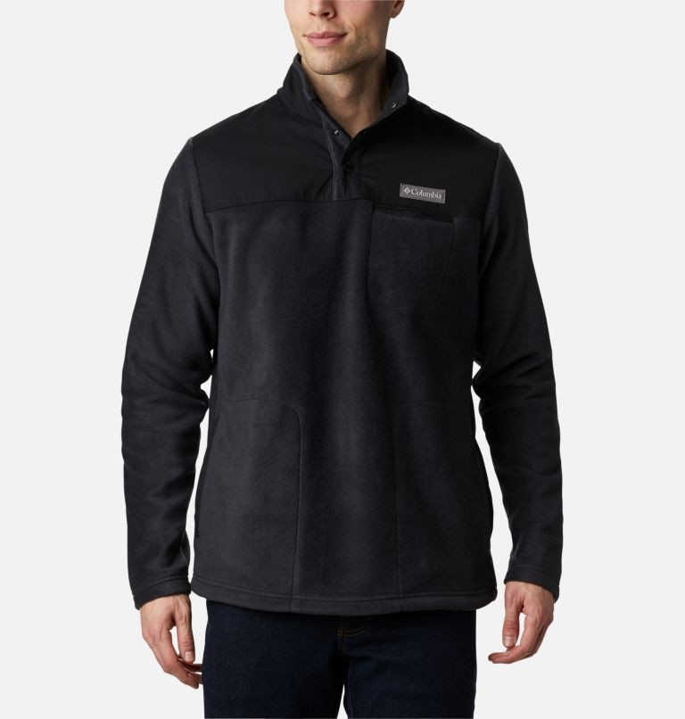 Men's Cottonwood Park™ Half Snap Fleece Pullover Men's Cottonwood Park™ Half Snap Fleece Pullover, front