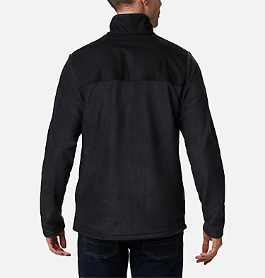 Pullover in pile con patta corta con bottoni a pressione Cottonwood Park da uomo Cottonwood Park™ Half Snap | 370 | XXL, Black, back
