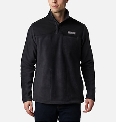Men's Cottonwood Park Half Snap Fleece Pullover Cottonwood Park™ Half Snap | 370 | XXL, Black, front