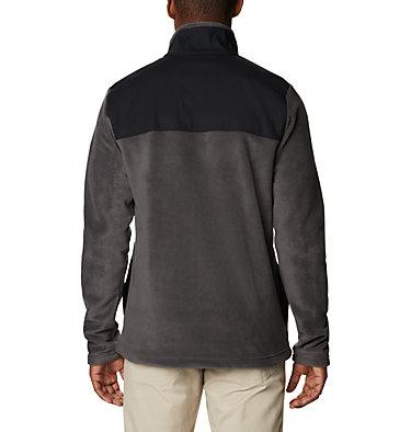 Men's Cottonwood Park Half Snap Fleece Pullover Cottonwood Park™ Half Snap | 370 | XXL, Shark, Black, back