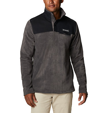 Polaire à demi patte pressionnée Cottonwood Park homme Cottonwood Park™ Half Snap | 370 | XXL, Shark, Black, front