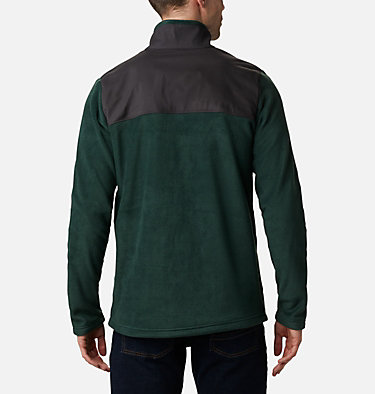 Men's Cottonwood Park Half Snap Fleece Pullover Cottonwood Park™ Half Snap | 370 | XXL, Spruce, Shark, back