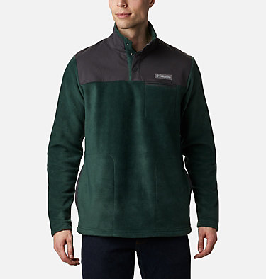 Men's Cottonwood Park Half Snap Fleece Pullover Cottonwood Park™ Half Snap | 370 | XXL, Spruce, Shark, front