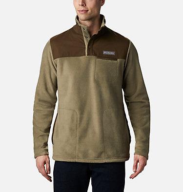 Cottonwood Park Half Snap Fleece Pullover für Männer Cottonwood Park™ Half Snap | 370 | XXL, Stone Green, Olive Green, front